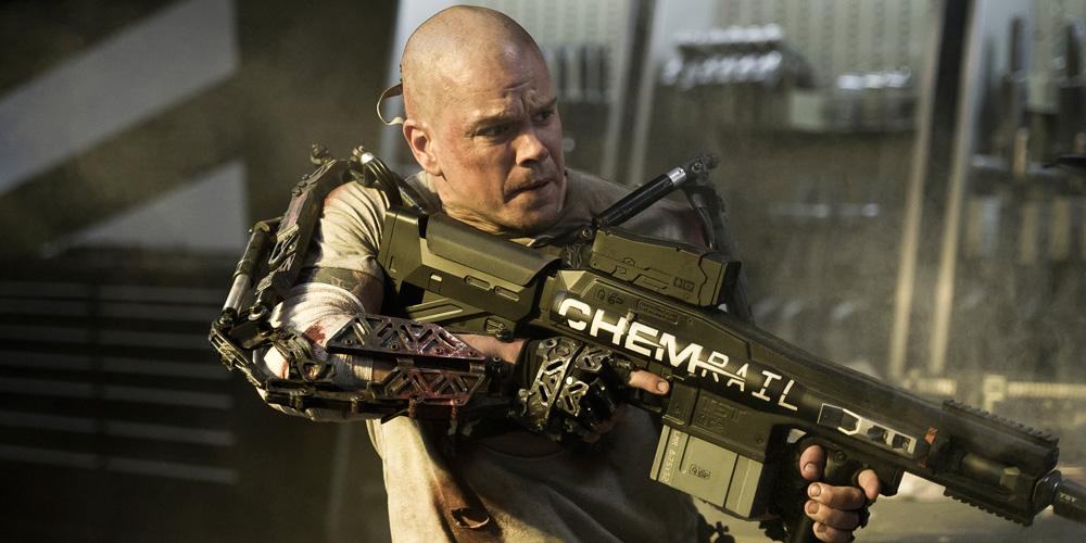 Matt Damon i Elysium. Foto: United International Pictures