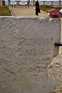 pontius pilatus, stein