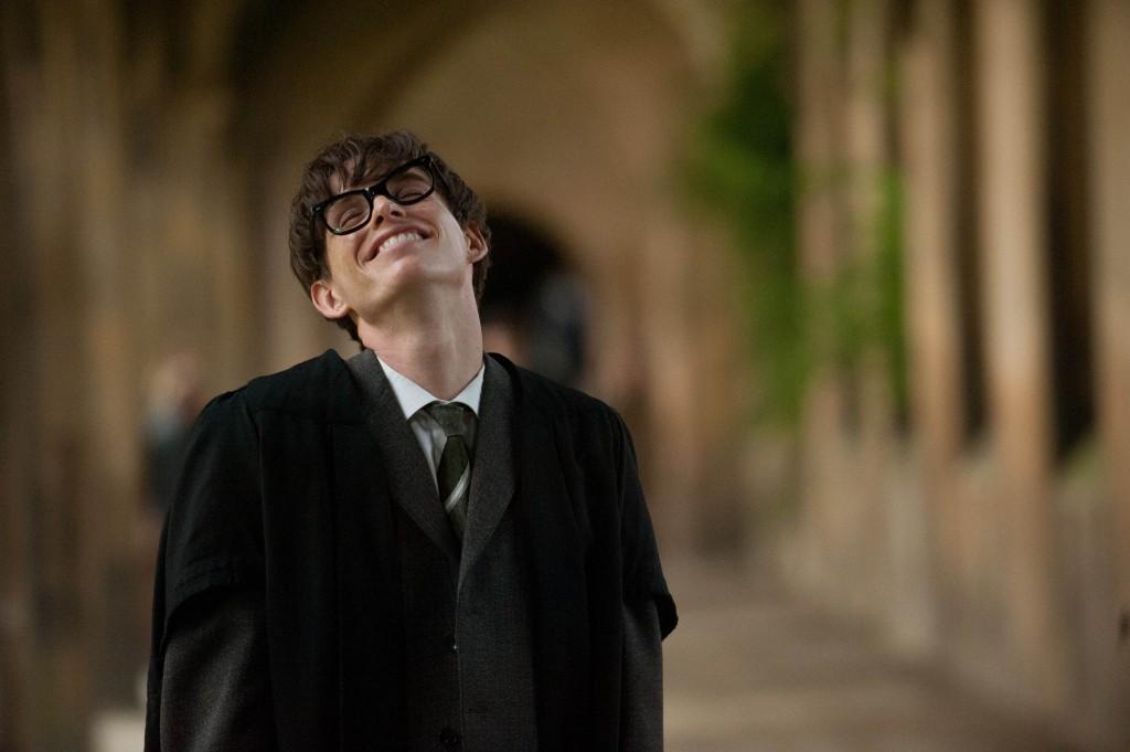 Eddie Redmayne spiller Stephen Hawking. Foto: United International Pictures