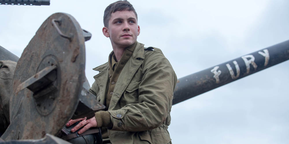 Logan Lerman spiller Norman Ellison i «Fury». Foto: United International Pictures
