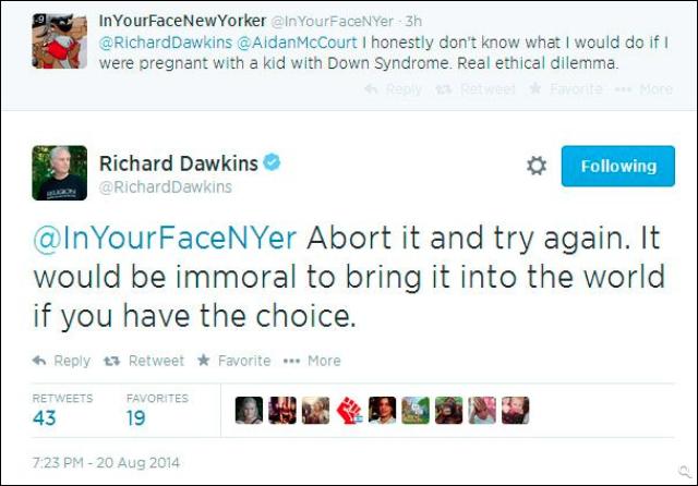 Dawkins abort