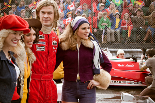 Chris Hemsworth (James Hunt) in Rush