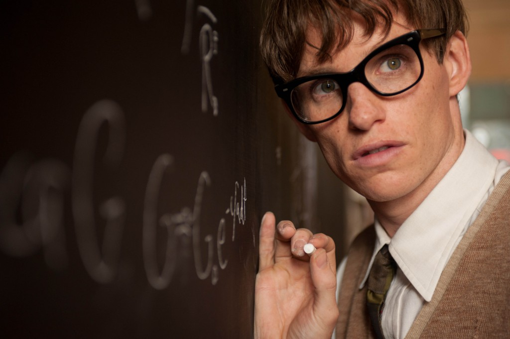Eddie Redmayne spiller Stephen Hawking. Foto: United International Pictures