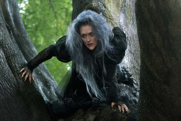 Meryl Streep spiller heksen i «Into the Woods». Foto: Disney Enterprises Inc.