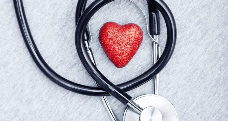 hjerte stetoskop korona