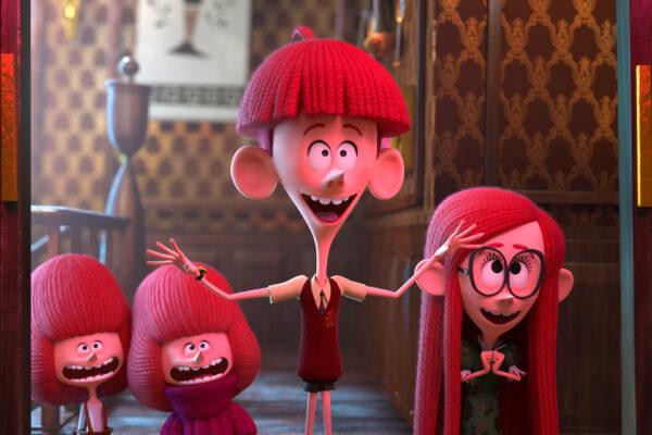 Den uvanlige familien Willoughby alle barna